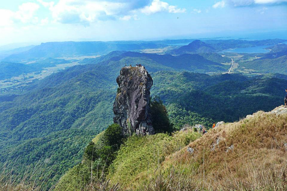 Pico de Loro's famous monolith (Raymond Ramon)