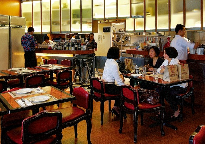 Mamou's interior. Photo by Jocas A. See