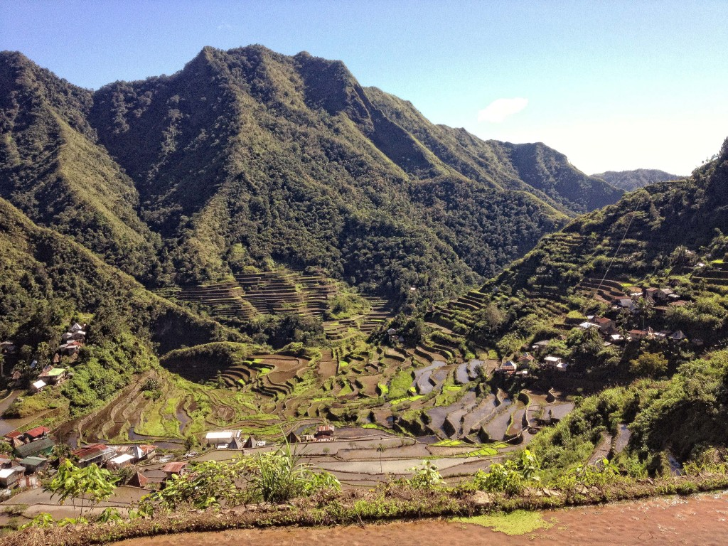 The rice terraces of Batad