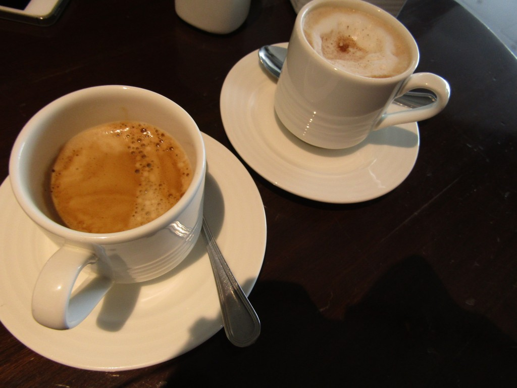 Nothing special about Dusit's coffee - and it took forever to arrive too