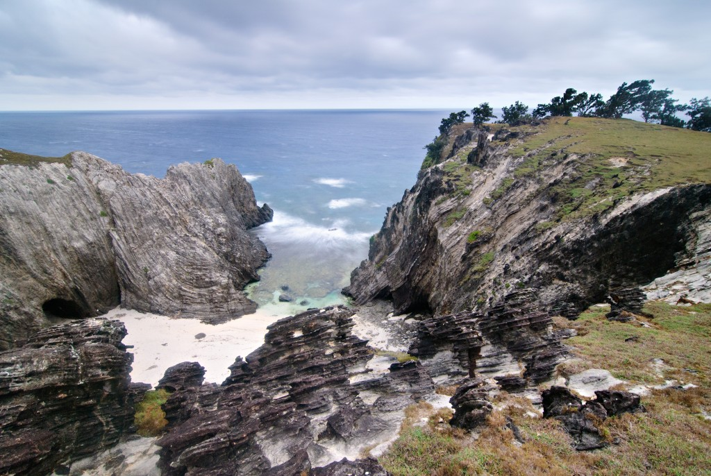 Rocky Nagudungan Hill that opens to a secluded beach