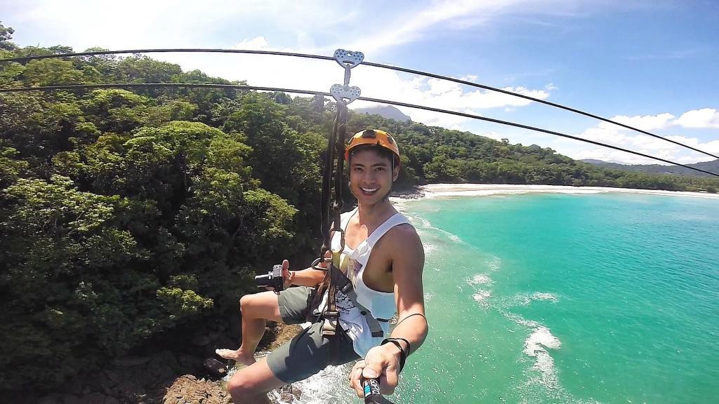 Wild ride on the Sabang X zipline in Palawan. Check out www.sabangxzipline.com.ph