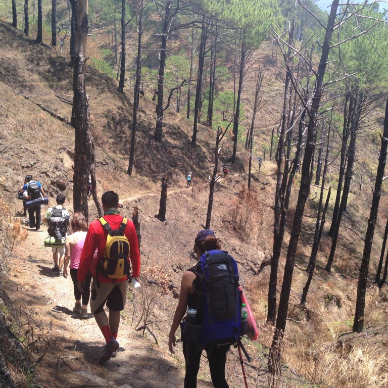 Kathibi and friends trek Mt. Pulag...