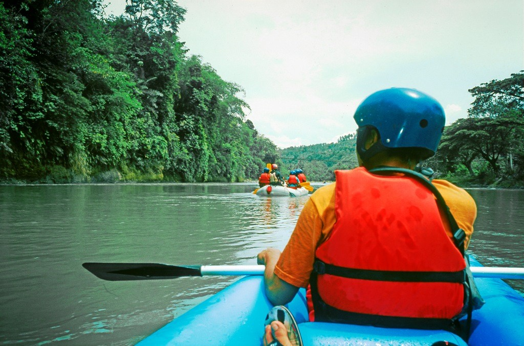 Beautiful still waters in some parts gave us a chance to enjoy a tranquil paddle. Photo by Juan Caguicla