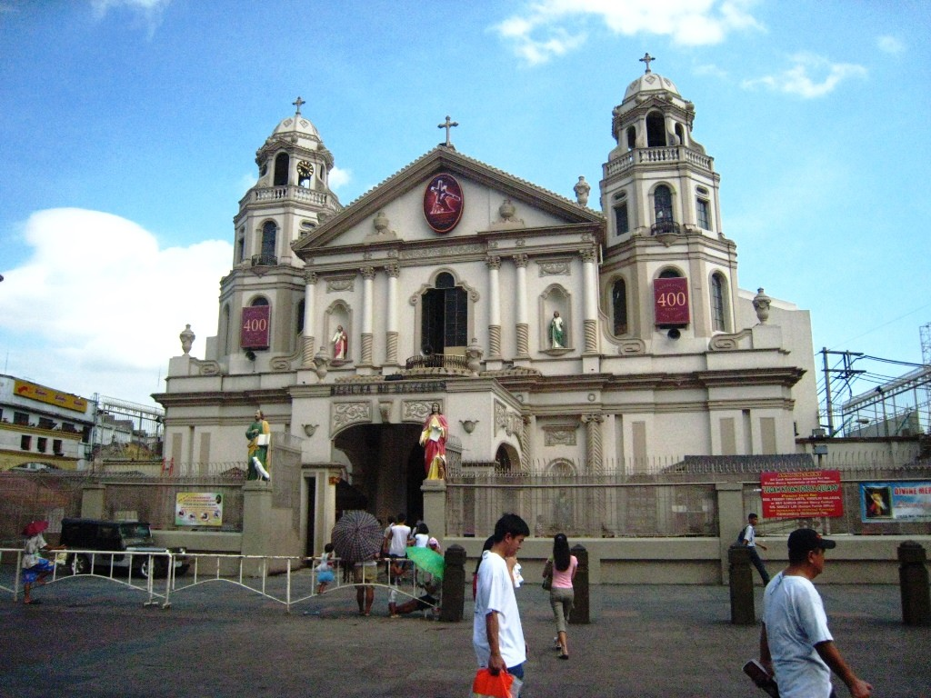 Quiapo church. Photo by Anson Yu