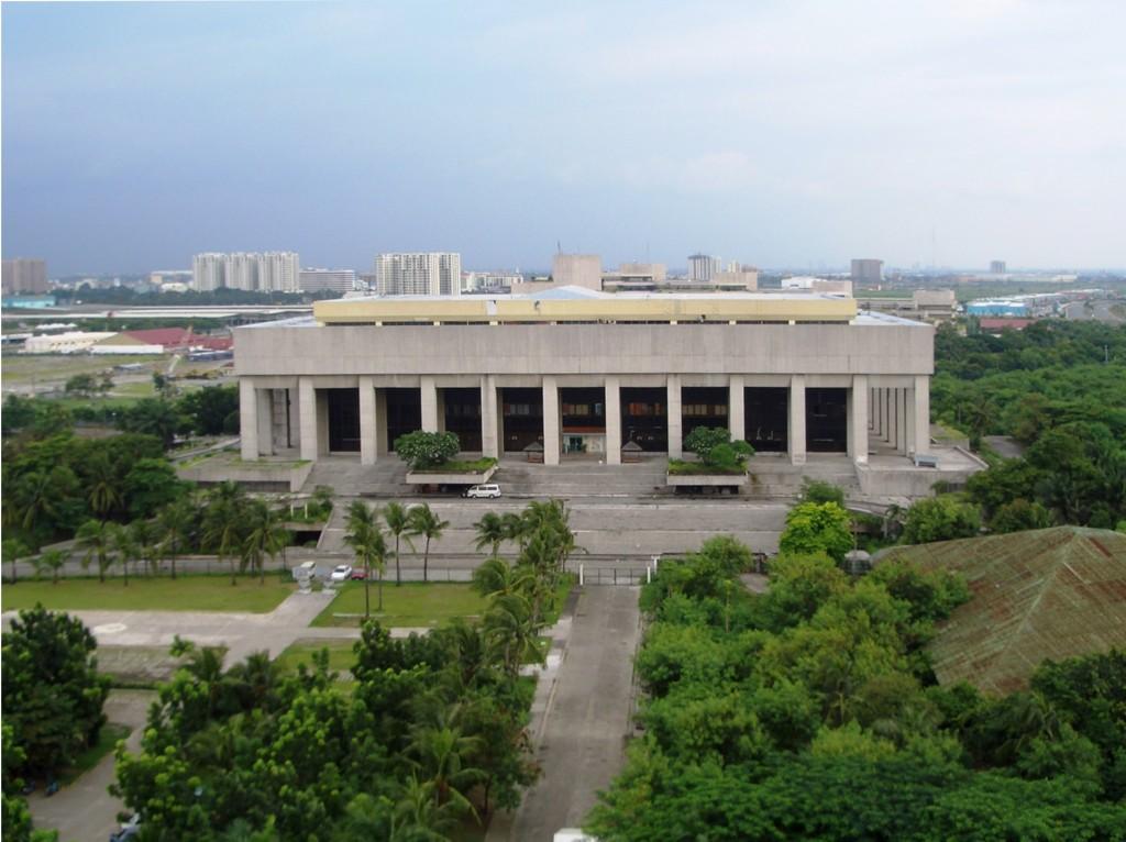 The Manila Film Center. Photo by Romina Rivera