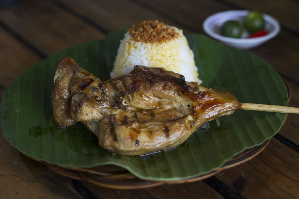 Chicken inasal or chicken grilled the Ilongo way