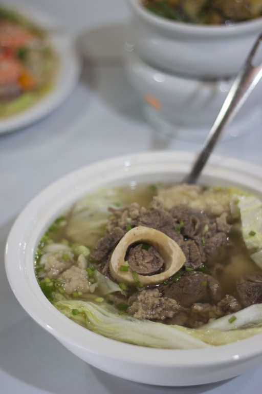 Bulalo or beef shank stew