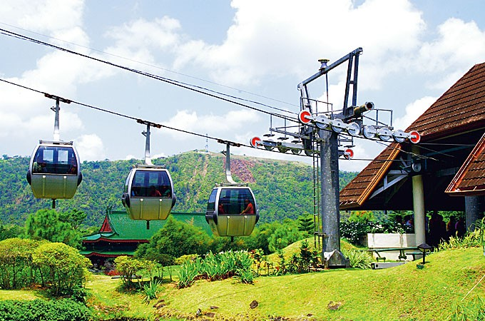 The Tagaytay cable car