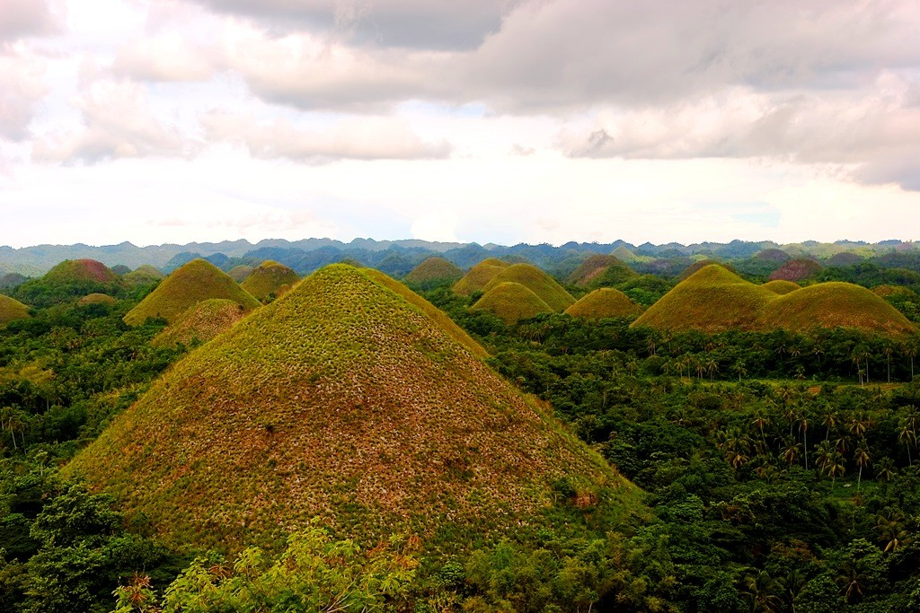 Bohol's Chocolate Hills. By Mike Alcid