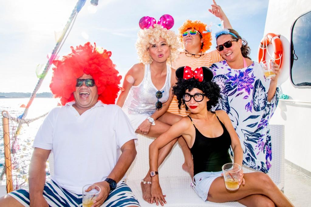 Sun, sea, and party on board the Boracay Suncruiser this Halloween weekend