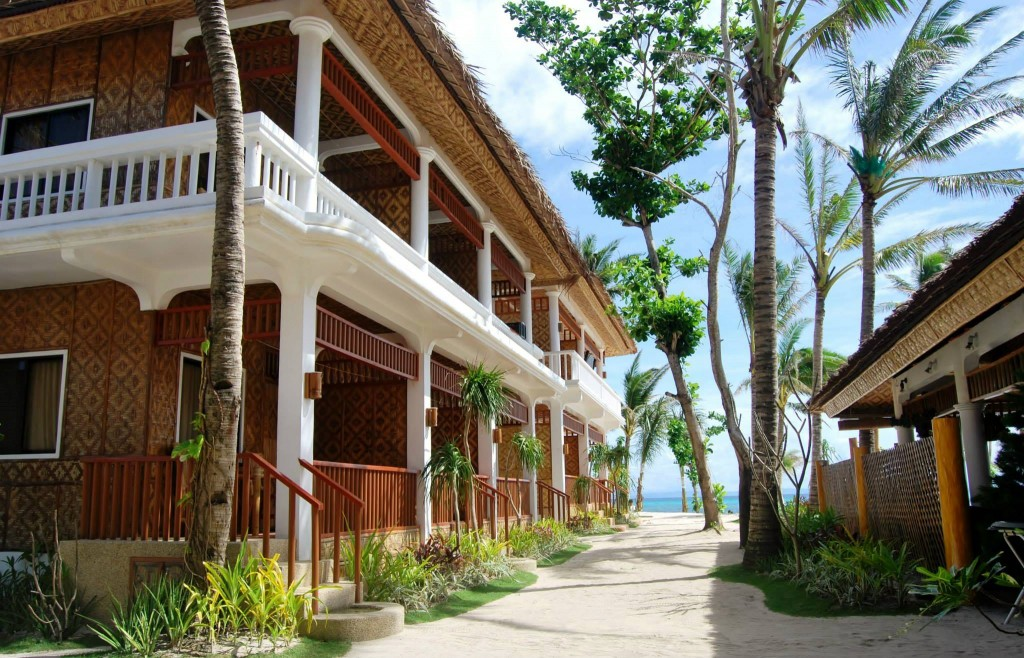 The resort. Photo courtesy of Malapascua Exotic
