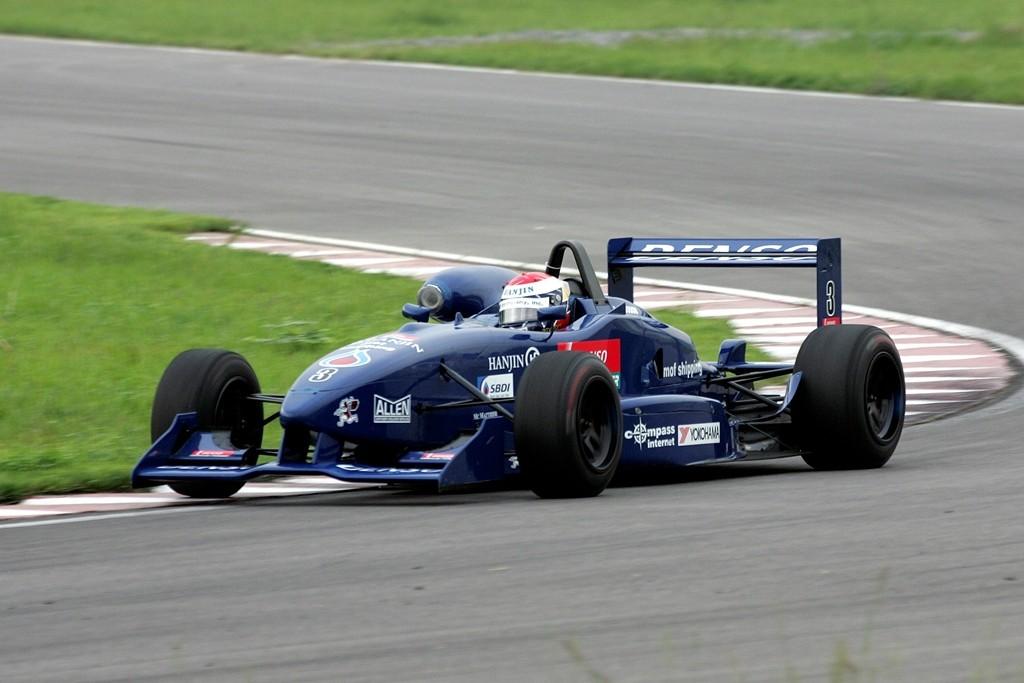 A formula car on the circuit. Photo by Richard Joson