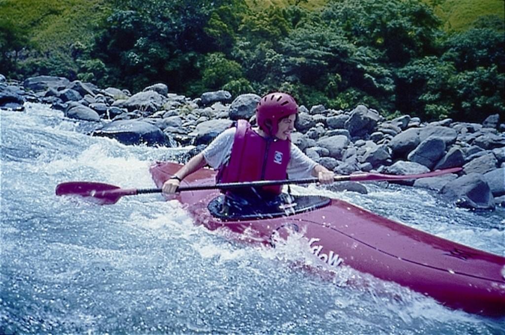 Extreme Kayaking. Photo courtesy of Tribal Adventures