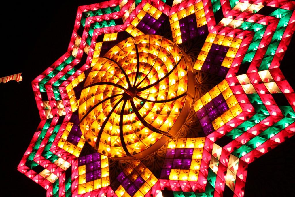 San Fernando Pampanga's giant lantern