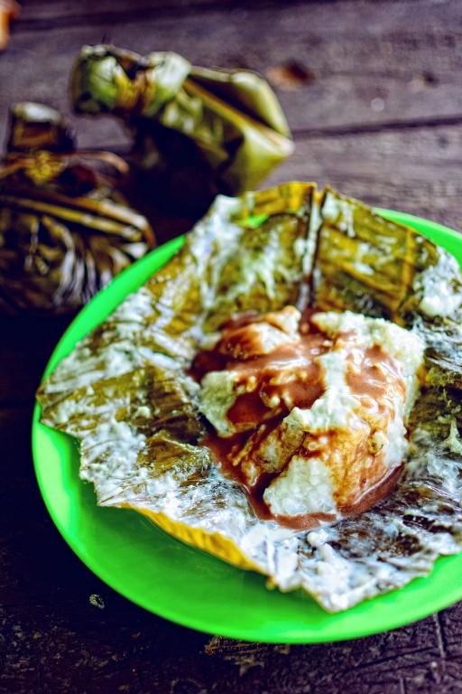 Binut-ong, lovely rice cake from Jovellar