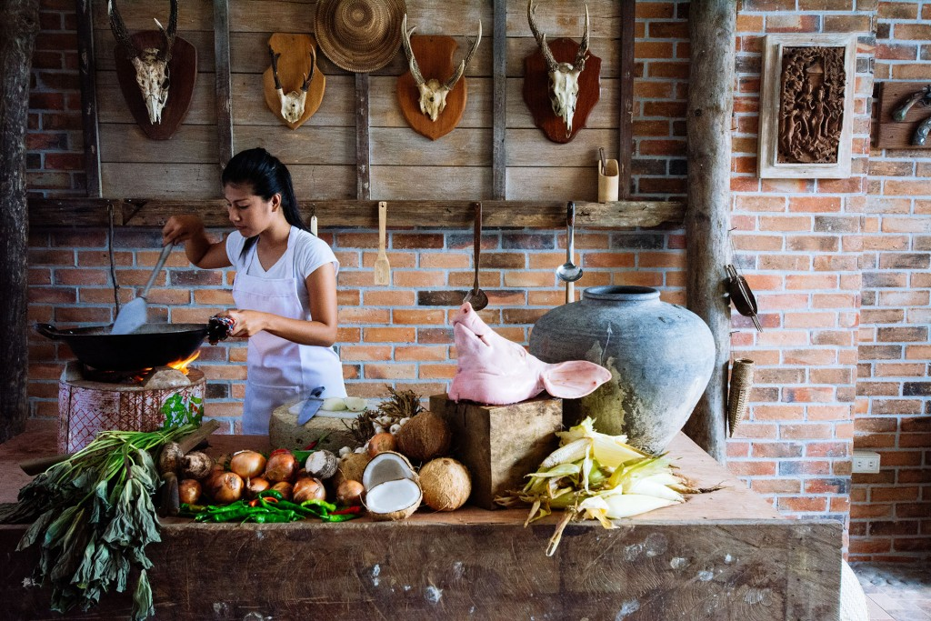 Some of the best meals in Albay are cooked over wood fire