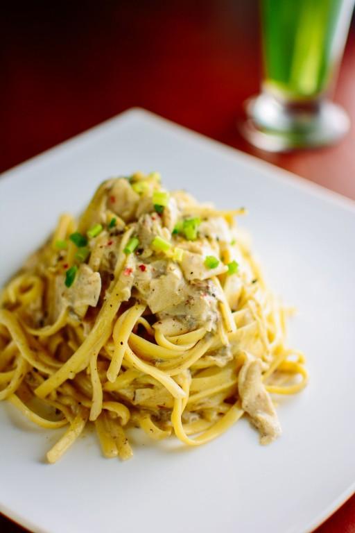 Kurakding or local truffle pasta available at Lila, also in Polangui