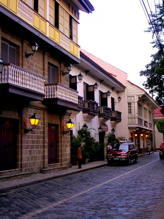Intramuros' Casa Manila from the outside. Photo by Anson Yu