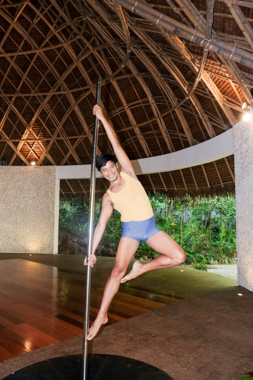 Mandala Spa's The Vessel pole dancing instructor Ed Aniel is the founder of Pole Academy Philippines