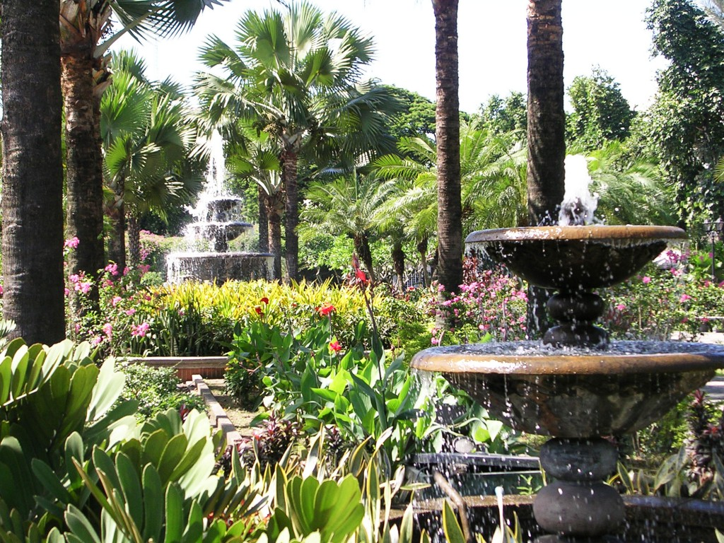 Visit the garden of Fort Santiago. By Anson Yu