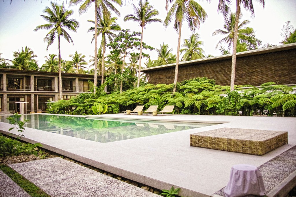 Siama Hotel's rooms enclose a beautiful infinity pool