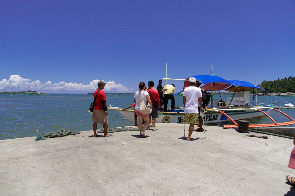 Pilar's port, the jump off point to the coastal villages of the municipality of Pilar and to neighboring provinces like Masbate