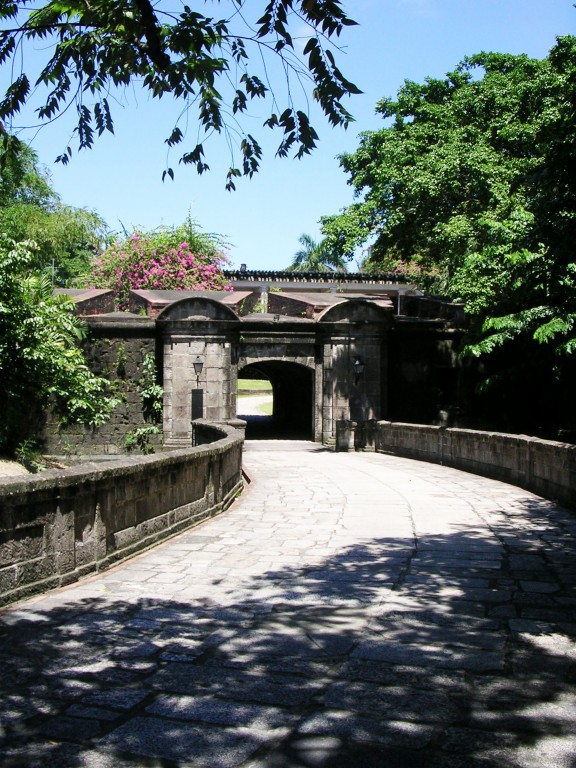 Puerto Real in Intramuros. By Anson Yu