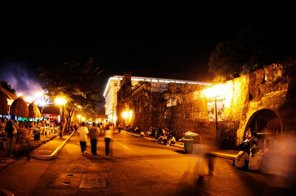 Intramuros at night By Erik Liongoren