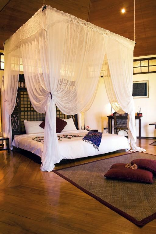 One of Mandala Spa & Villas' romantic rooms