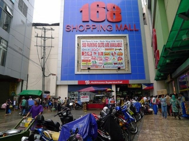 In front of 168 Mall pinched from maniladestination.com