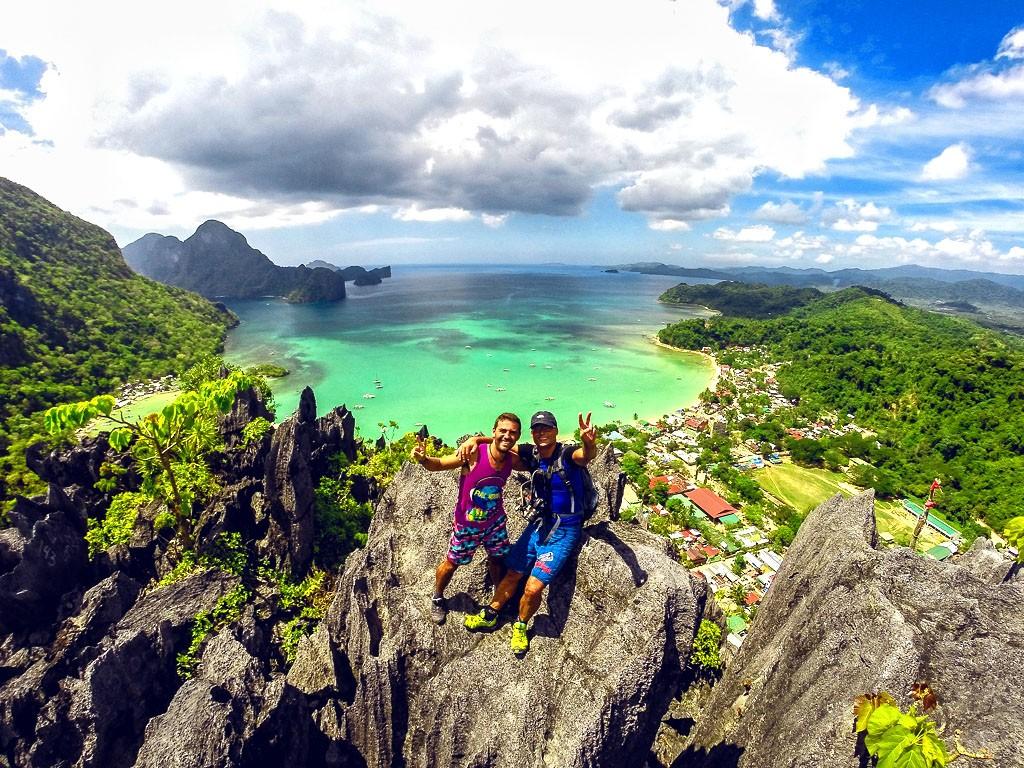 Shortlist: Paraw cliff, El Nido Palawan by Cyril Raysseguier