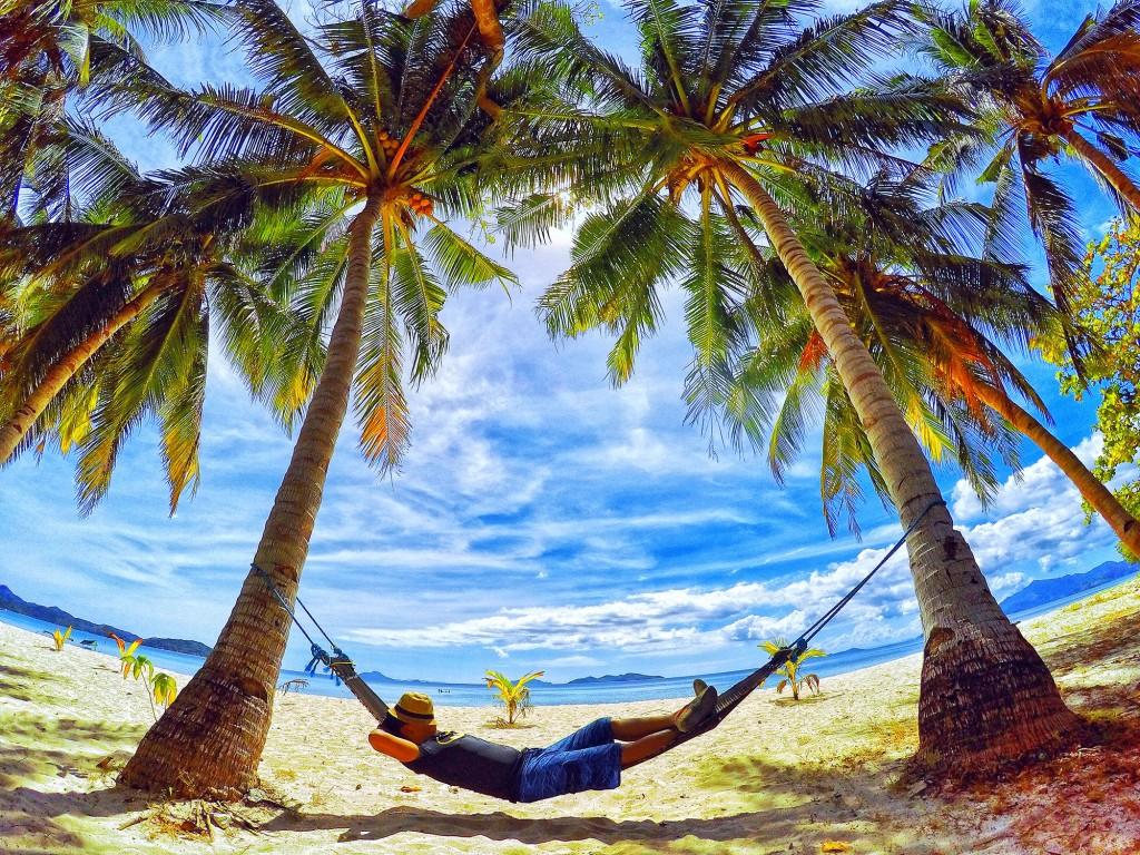 Winner William Clemente for this photo of Malcapuya Island in Coron, Palawan