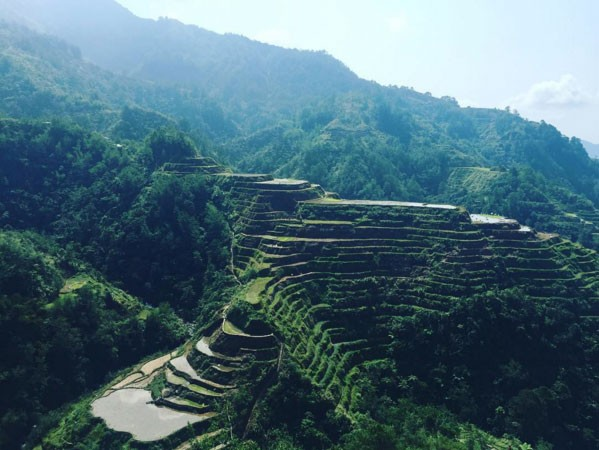 Banaue Rice Terraces pinched from Instagram @julieatmuc