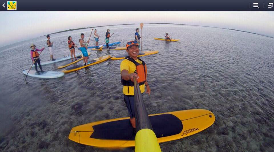 Buzzy now organizes kayaking tours and lessons. Screengrab from Buzzy Budlong's Facebook page