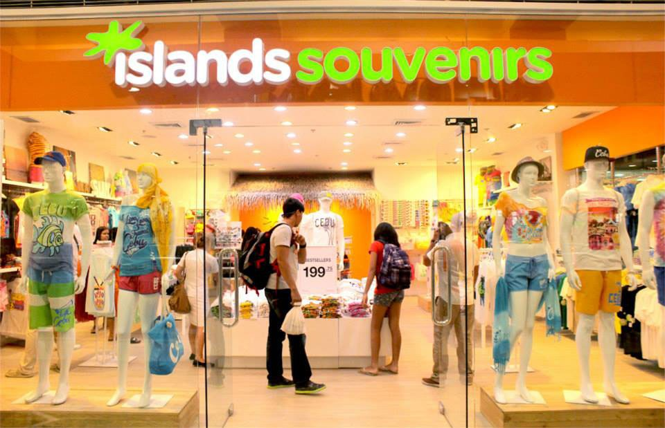Island Souvenirs store in SM City Cebu pinched from Islands Facebook page