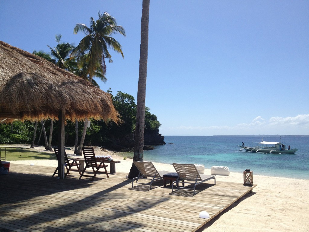 Jay Aldeguer's beachfront property in Malapascua, Cebu