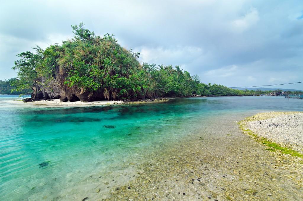Juag Lagoon marine sanctuary in Matnog. By Christian Sangoyo