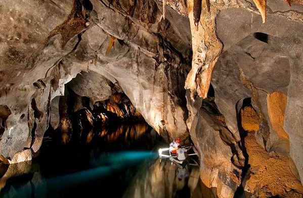 The Puerto Princesa Subterranean River. Screengrabbed from Palawan.com