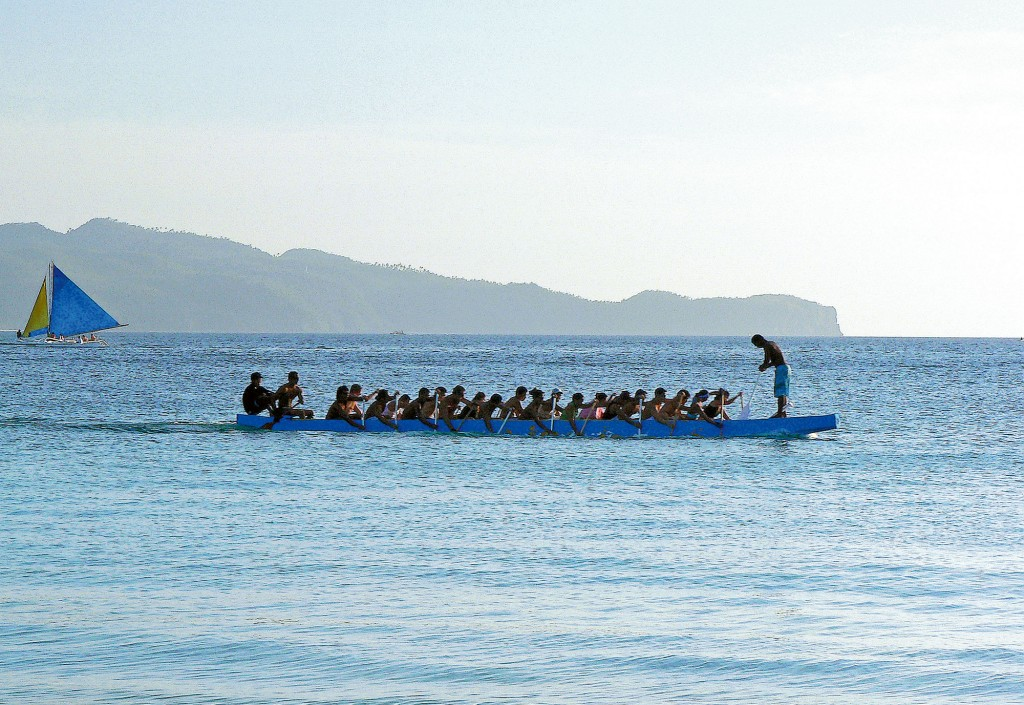 Dragon Boat Rowing By Josh Cruz