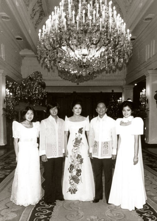 Ferdinand Marcos and his family at the height of his power. When the Marcos regime ended, the Philippines was left with the highest debt burden in the East and Southeast Asia.