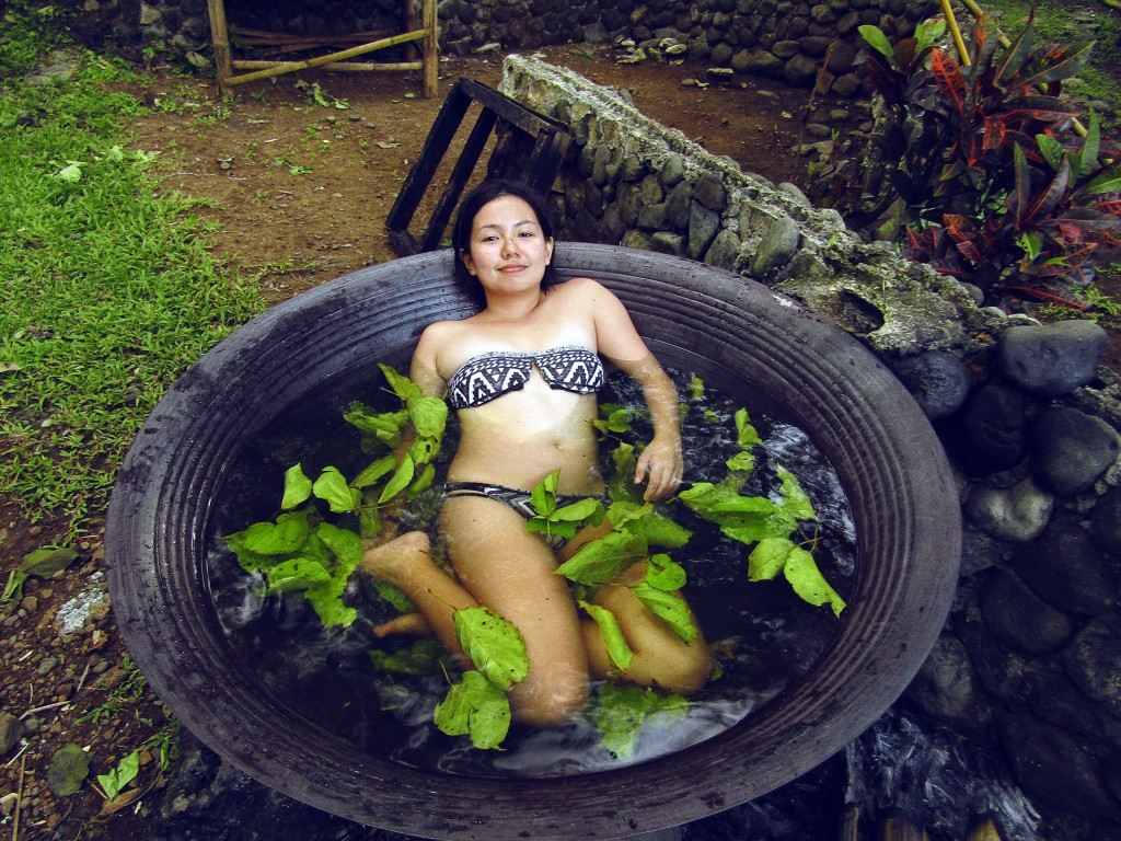 Hot kawa bath By Amanda Lago