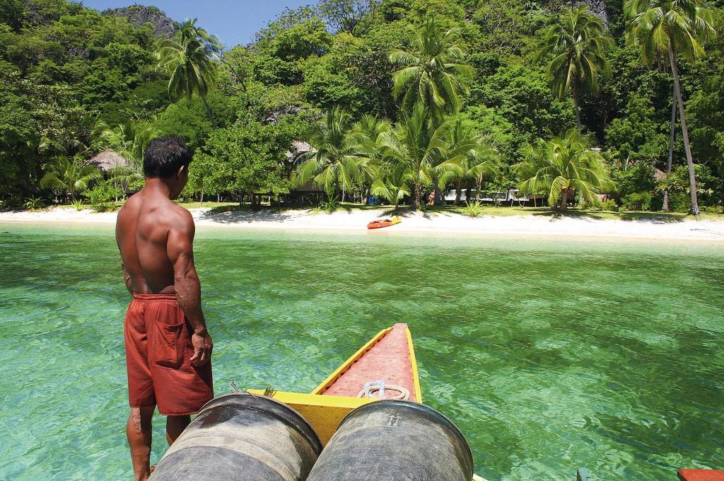 Sangat Island in Coron, Palawan