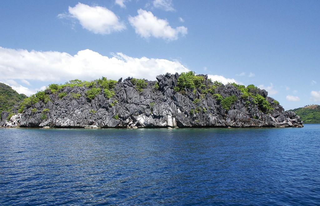 Limestone cliffs in Coron, Palawan