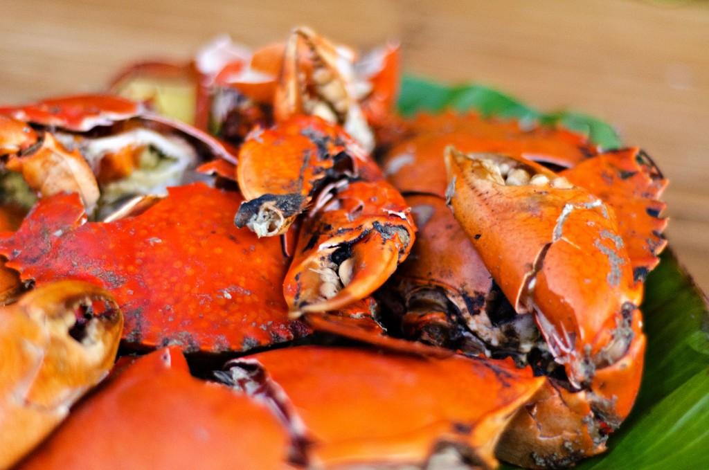 Feast on seafood at Paraiso de Palani Beach Villas