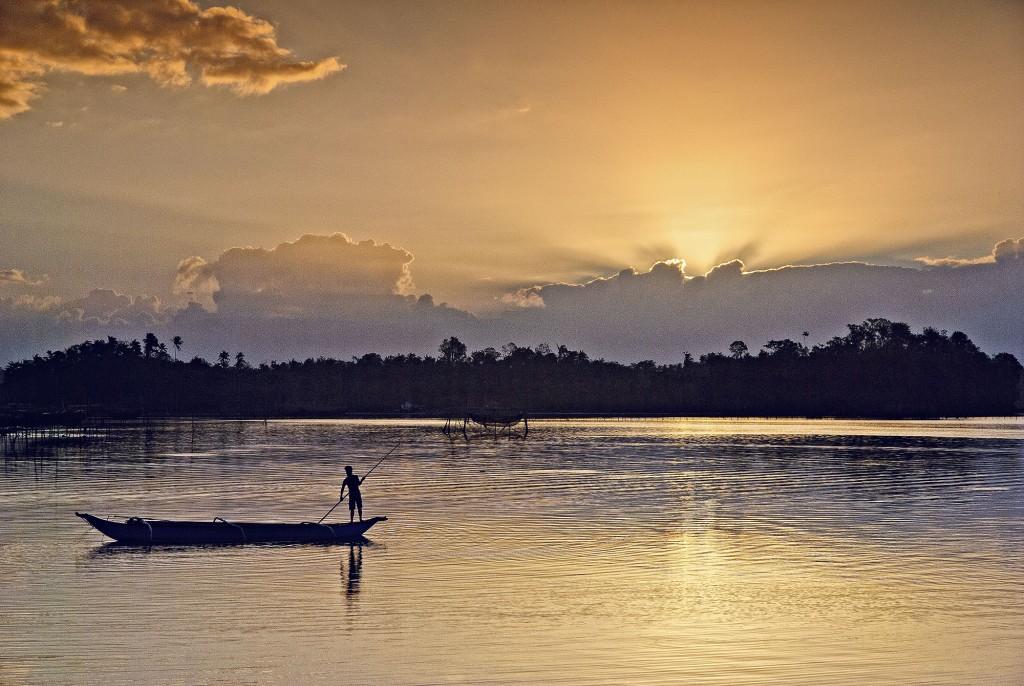 Sunset at Palani beach
