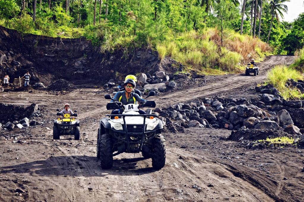An ATV ride up Mt Mayon