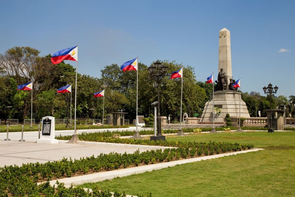 Rizal Monument Photo courtesy of Tourism Promotions Board of the Philippines