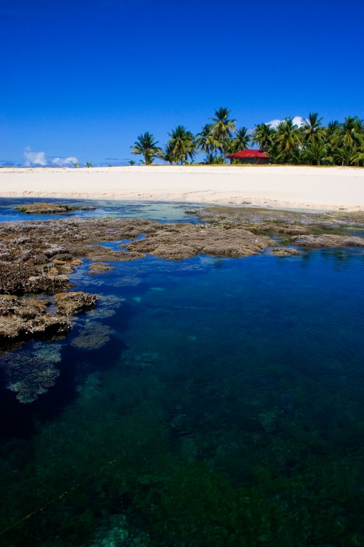 Mamon Island during lowtide