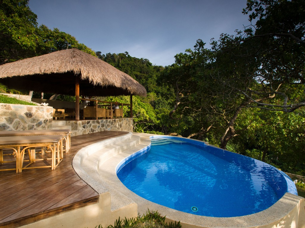 El Nido Overlooking pool and cottage